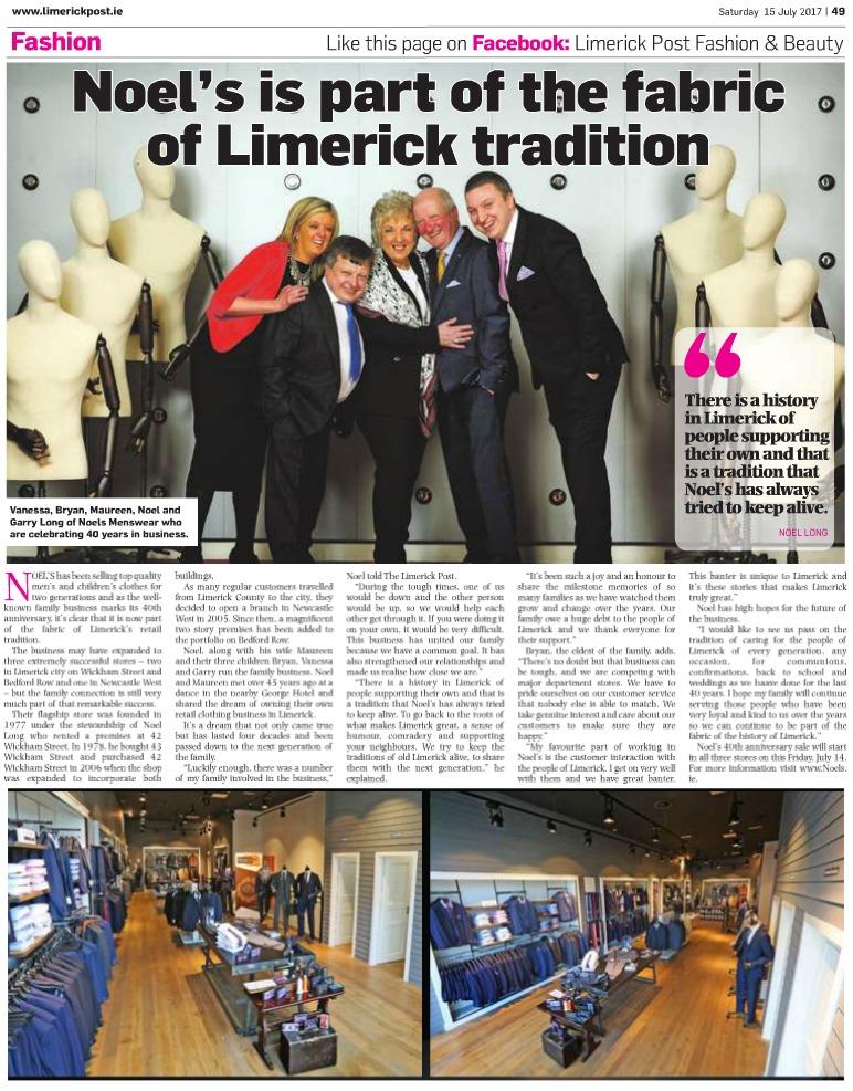 Limerick Post Saturday July 15 pg49 NOELS