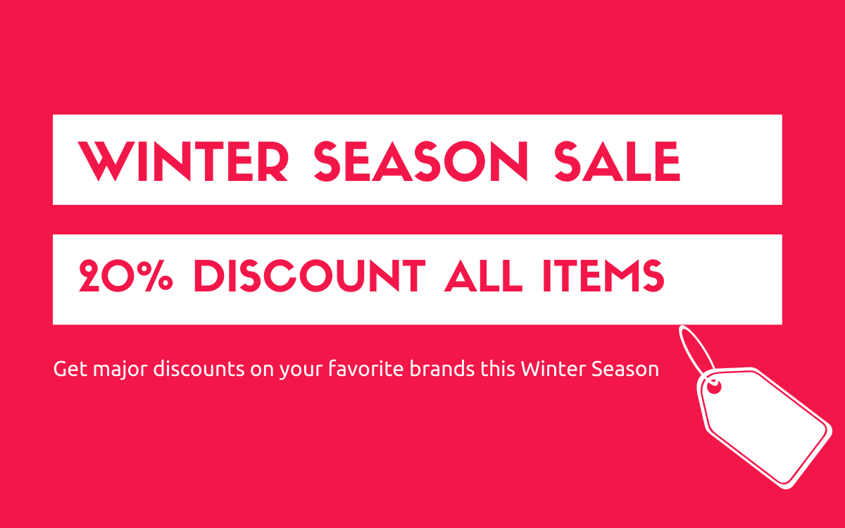 Winter SEASON SALE
